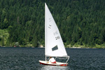 Sailing in Bohinj
