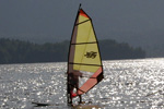 Windsurfing in Bohinj